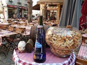 Restaurant Terrace in Lyon