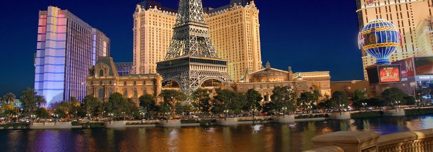 8 Days in Las Vegas, US, £559 (flights & hotel)